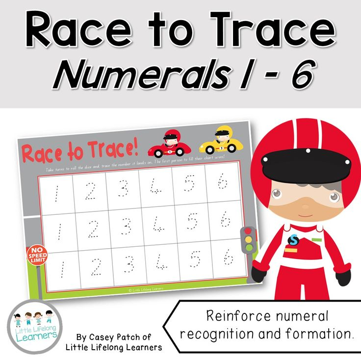 FREE!! Race to trace - numeral recognition and formation game. Work on number formation with this numeracy dice game! Students work on recognising numbers from 1 to 6 as they roll the dice and subitise. This is a resource for Australian teachers using the QLD beginners font.   Little Lifelong Learners