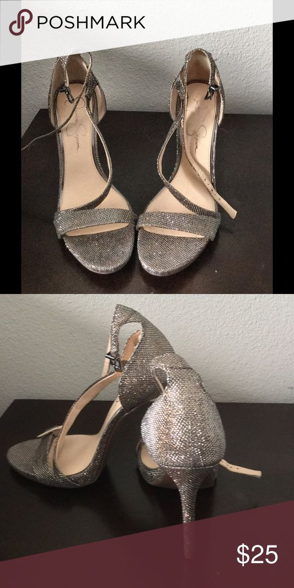 20%OFF TODAY Jessica Simpson strappy shoes! Jessica Simpson strappy shoes ,perfect for formal or casual events ..Heel height : 4 inches ! Excellent Used condition ( used once for a wedding )...Price be change before purchase!! Jessica Simpson Shoes Heels