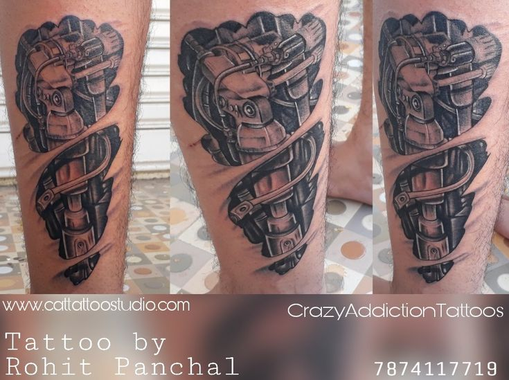 best 25 mechanic tattoo ideas on pinterest engine tattoo biomechanical tattoo design and car. Black Bedroom Furniture Sets. Home Design Ideas