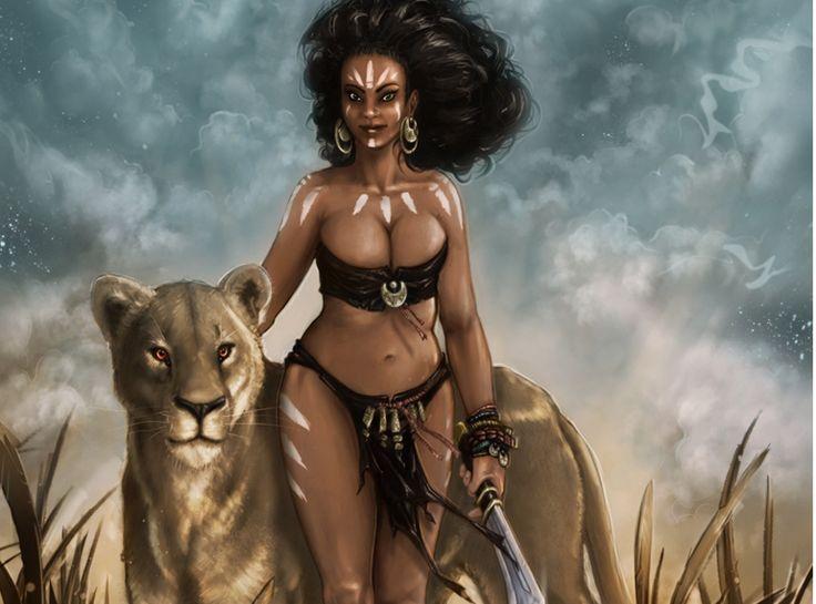 10 courageuses guerrières Africaines à travers l'Histoire.