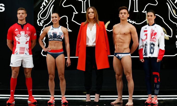 Team GB show off Olympic kit ahead of Rio Games – video