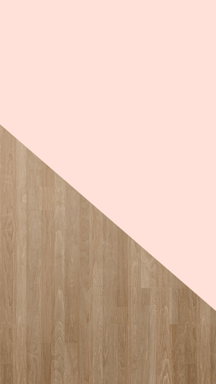 Pale Pink + Wood Grain | Free iPhone 6 Wallpaper