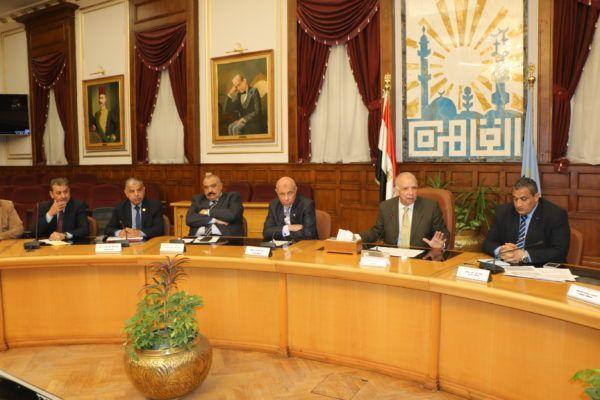 اجتماع محافظ القاهرة الدوري مع رؤساء الإحياء الدبلوماسي Conference Room Places To Visit Decor