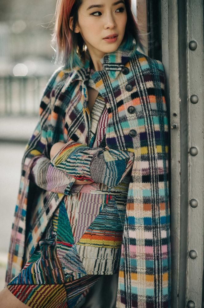 I adore these colors , textures and patterns together. (Missoni)