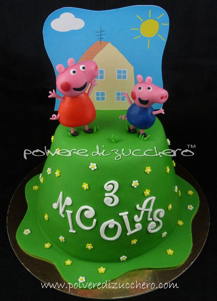 Image Result For Peppa Pig Birthday Cake Ireland