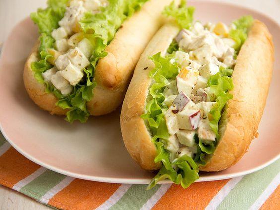 Сэндвич с куриным салатом: пошаговый рецепт с фото и видео