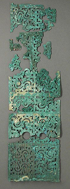 Openwork Plaque, China, Warring States period, 481-221 B.C.    Los Angeles County Museum of Art