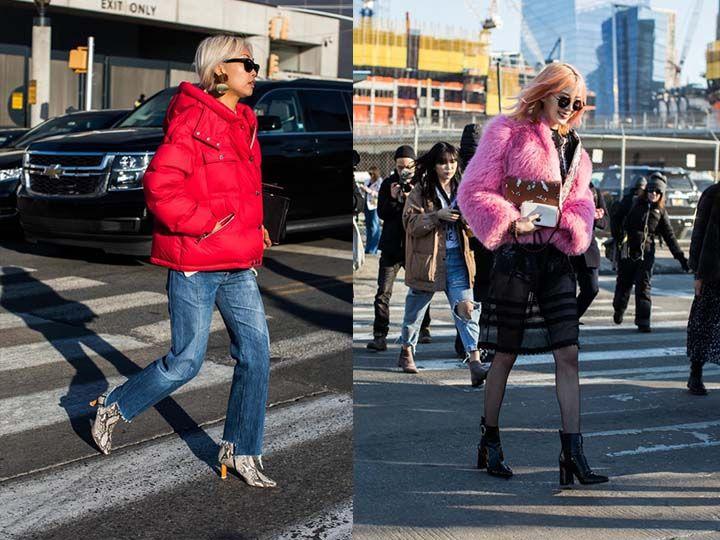 Уличная мода осень-зима 2017-2018 | модная уличная одежда