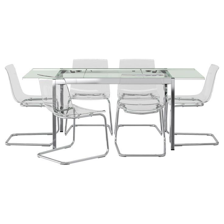 GLIVARP/TOBIAS Table and 6 chairs - IKEA