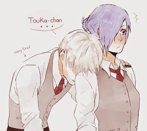 tokyo ghoul kaneki and touka kiss - Google Search