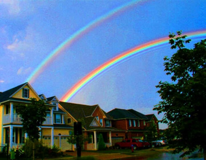 Best Real Rainbows Images On Pinterest Rainbows Scenery And - 17 breathtaking photos of rare double rainbows