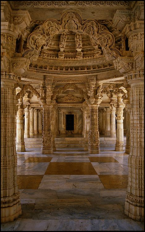 Jain Temple, #Udaipur, #Rajasthan, #India Beautif…