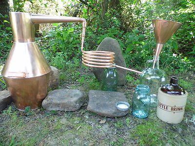 3 Gallon Copper Whiskey Still Moonshine Still | eBay