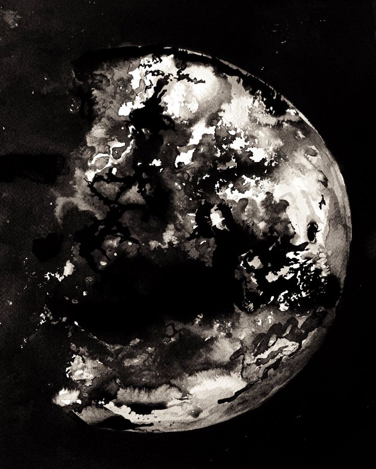 The eastern half of the moon