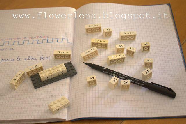 Alta Priorità: Tabelline con le Lego