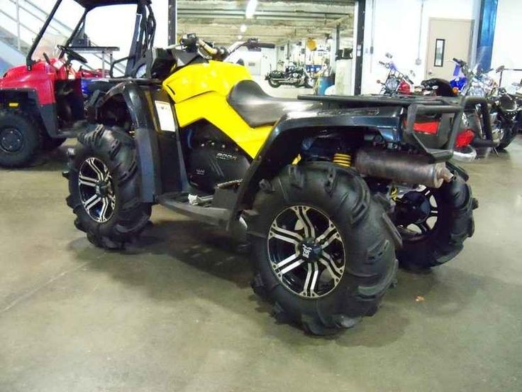 Used 2012 Can-Am Outlander X mr 800R ATVs For Sale in Nebraska. 2012 Can-Am Outlander X mr 800R, 2012 Can-AM® Outlander X® mr 800R The Outlander X® mr includes numerous mud-riding features that create a more effective mud machine, as proved by our success in many ATV championship mud races. We brought the air intake as high as possible on the ATV so the engine can breathe easily. It also has adjustable-on-the-fly front and rear Air Control Suspension (ACS). Our partnership with Gorilla…