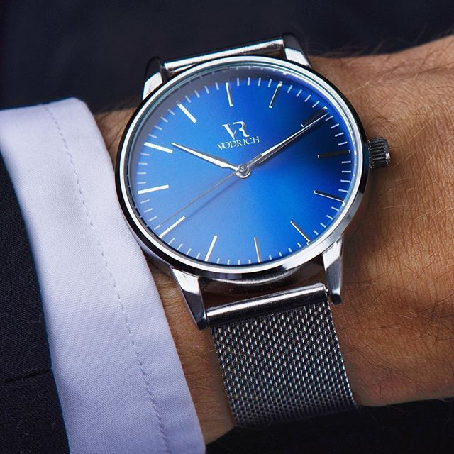 Manage your time in style. Iconic Blue. #vodrich (:@sccud)