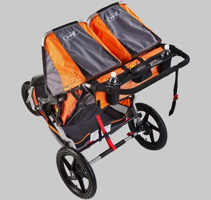 Double #jogging strollers . . . in good condition with child