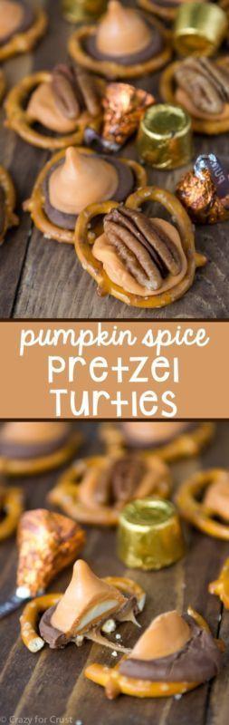 Pumpkin Spice Pretzel Turtles | eBay