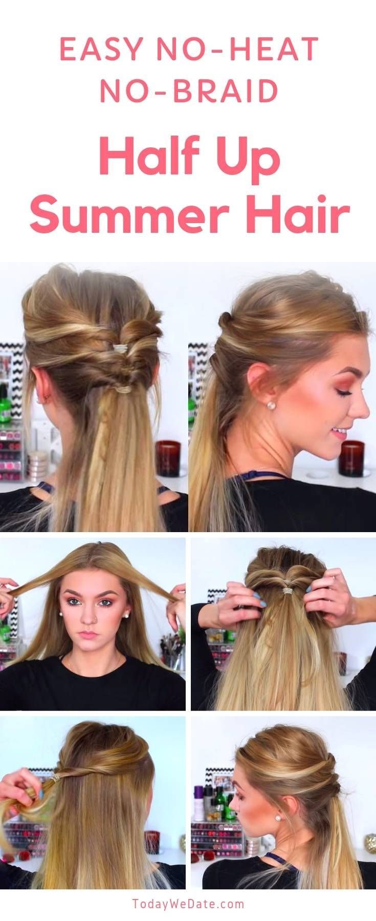 Pin On Hairstyles Half Up