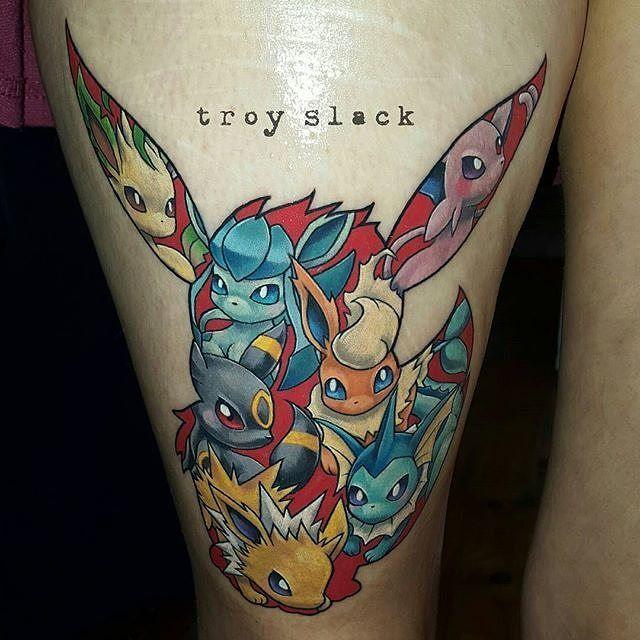 eevee tattoo - photo #6