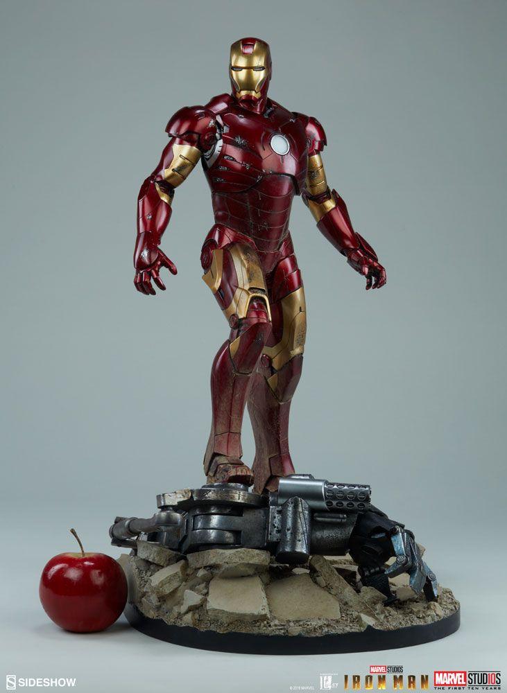 34efd5814f1 Iron Man Mark III Marvel Maquette O Homem de Ferro Mark III Maquette tem  225 de altura com um design intrincado baseado na terceira armadura de Tony  Stark ...