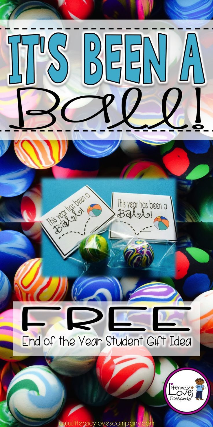 Give your students a little gift as they BOUNCE their way into summer!  FREE printable!  ~ Literacy Loves Company