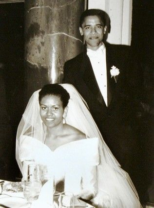 The President and First Lady of the United States of America..