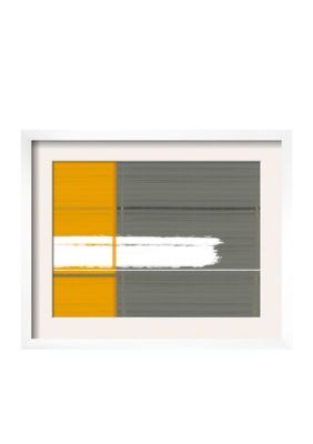 Art.Com  Grey And Yellow Framed Art Print  Online Only -  - No Size
