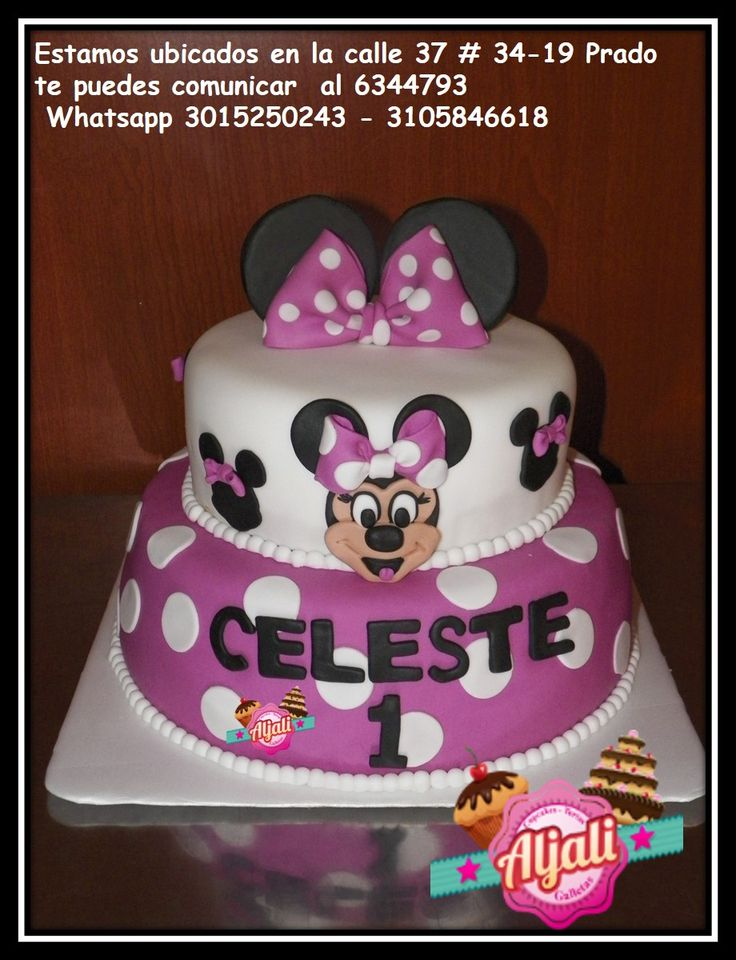 minnie mouse torta , cake