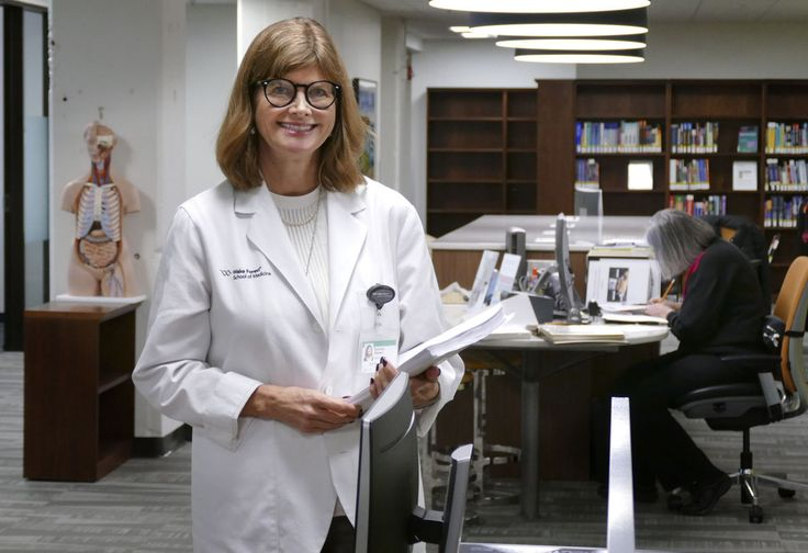 2017-1-3 - 54-year-old medical student at Wake Forest School of Medicine is living her dream