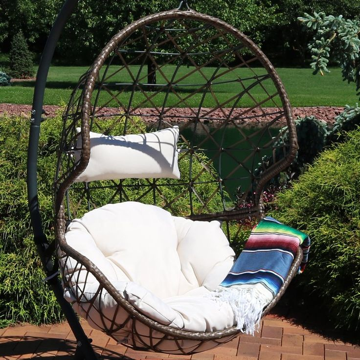 Mahaffey Hanging Egg Swing Chair Swinging Chair Egg