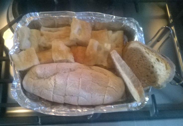 Bread, Black Bread, Focaccia, Italian Baguette Bread.