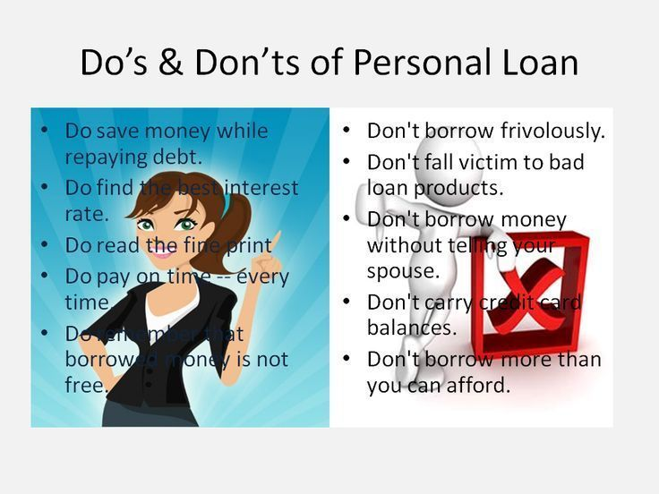 Know The Do S And Dont S Befor Applying For Personal Loan Personal Loans How To Apply Loan