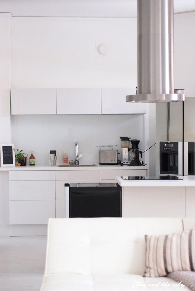 My friends apartment in Turku, Finland: http://divaaniblogit.fi/charandthecity/2014/02/06/asunto-turussa/
