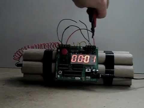 The Dynamite Alarm Clock