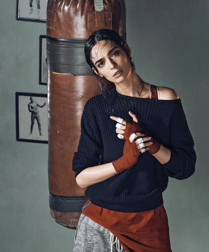 'Knockout' Cristina Piccone by Hans Neumann for Harper's Bazaar Mexico July 2014