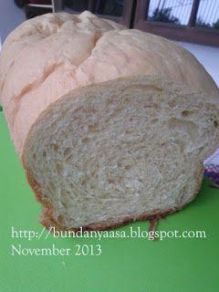 Belajar membuat roti tawar - Toast Bread   My first bread