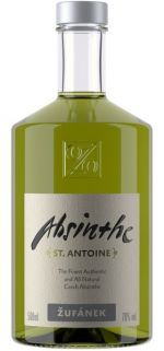 Absinthe St. Antoine 70% 0.5l - Lepší nálada - váš dodavatel poctivých alkoholických nápojů Žufánek