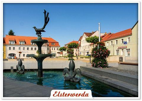 Bildpostkarte Elsterwerda