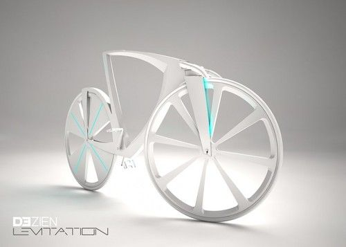 future, dezien, Levitation, futuristic vehicles, concept vehicle, bike concept, future bike, future transport, Michael Strain, futuristic