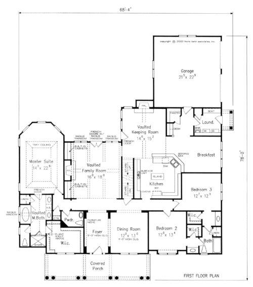 Frank Betz Has An Available Floor Plan Entitled Allenbrook House