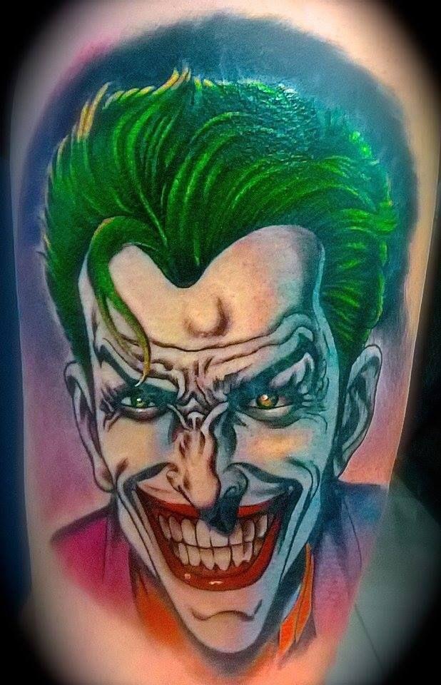 freehand joker, hope you like !