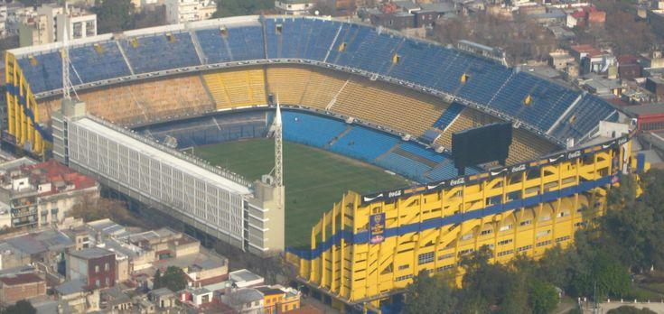 La Bombonera - Buenos Aires, Argentina