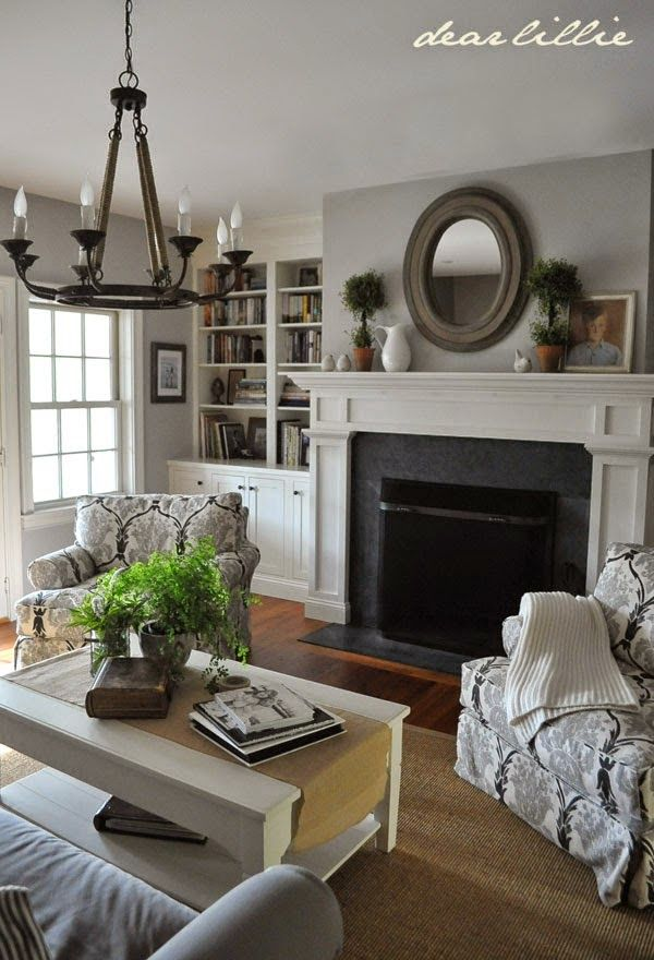Benjamin moore metro gray 1459 google search farmhouse - Benjamin moore stonington gray living room ...