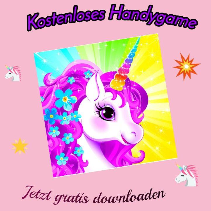 kostenloses einhorn handygame zum gratis download