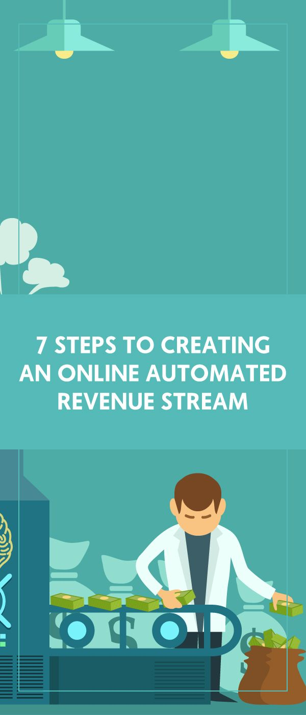 7 Steps To Creating An Online Automated Revenue Stream - The Wellness Business Hub