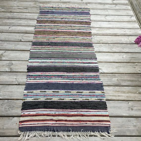 17 Best Images About Vintage Rag Rugs On Pinterest