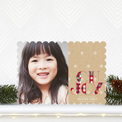 Cheerful Checkers - Flat #Holiday Photo Cards with a tomato red checker font. #Christmas: Christmas Cards, Checkered Fonts, Holidays Photos Cards, Holiday Photos, Holiday Photo Cards, Cheer Checkered, Holidays Cards, Flats Holidays, 2013 Holidays