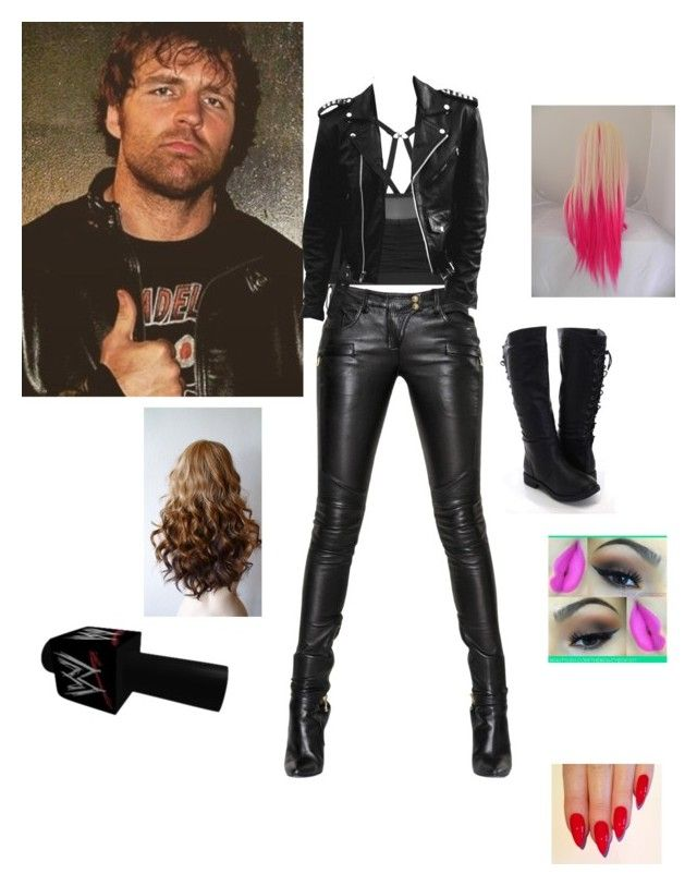 A badass outfit for doing a promo with a badass man<3
